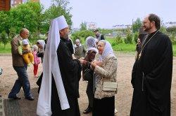 Владыка Владимир, митрополит Кишиневский и всея Молдовы поддержал строительство Святодуховского храма в Приморском районе