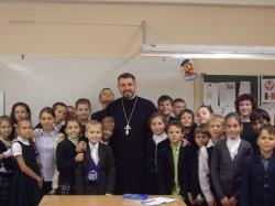 Урок по Основам Православной Культуры в школе №43 Приморского района