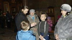Экскурсия в дом преподобного Сергия в Петербурге.