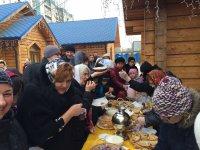 Масленица 2015 в храме святого Николая Чудотворца на Долгоозерной улице.