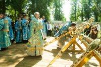 Праздник Тихвинской иконы Божией Матери в Путилово у Храма Тихвинской иконы Божией Матери. 5 июля 2015