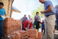 В строящийся Собор Святаго Духа на Долгоозерной улице будут заложены именные кирпичи