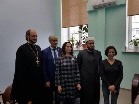 Протоиерей Александр Ткаченко принял участие в межконфессиональной встрече-дискуссии