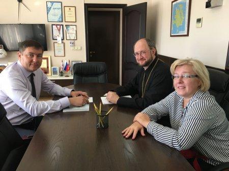 Протоиерей Александр Ткаченко встретился с вице-губернатором Приморского края