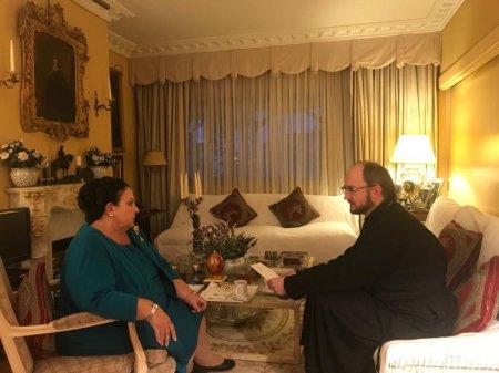 Протоиерей Александр Ткаченко встретился с Главой Российского Императорского Дома