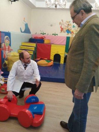 Секретарь общественной палаты Российской Федерации посетил Детский хоспис