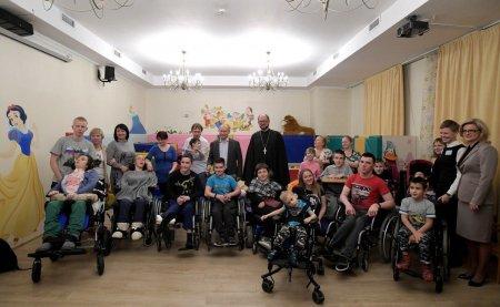 Президент РФ посетил Детский хоспис