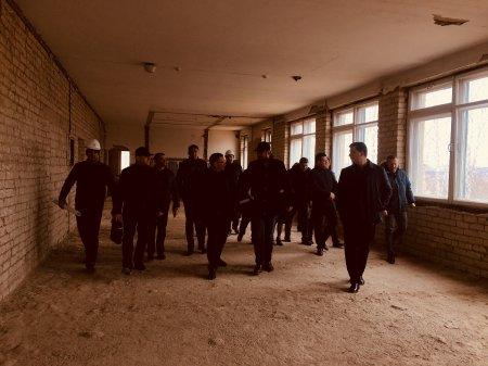 Протоиерей Александр Ткаченко посетил место строительства Детского хосписа.