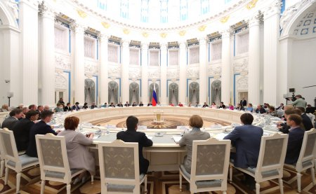 Заседание Совета по реализации государственной политики в сфере защиты семьи и детей